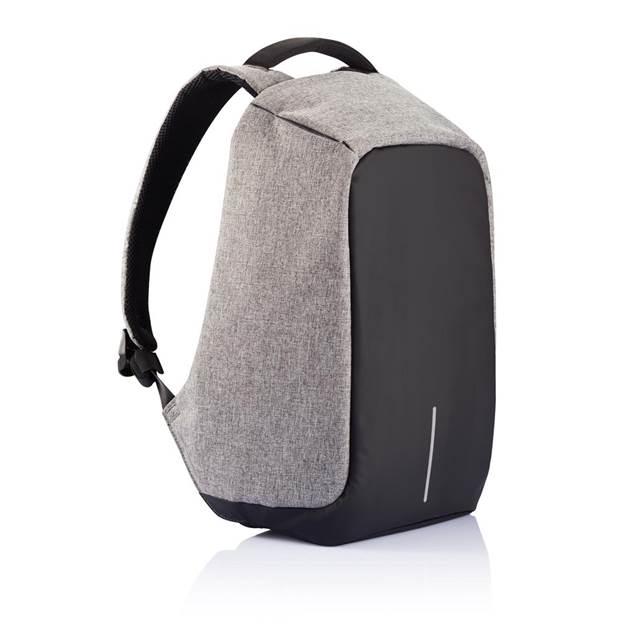 Anti-Diebstahl Rucksack Bobby XL - Farbe: grau/schwarz