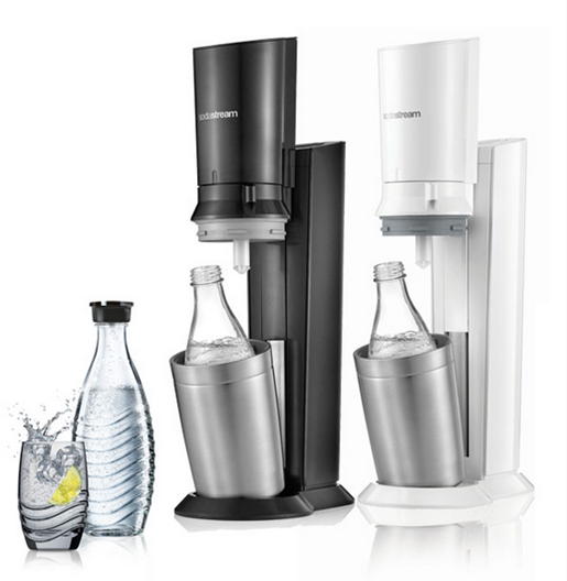 SodaStream CRYSTAL Elegantes Design und edles Glas